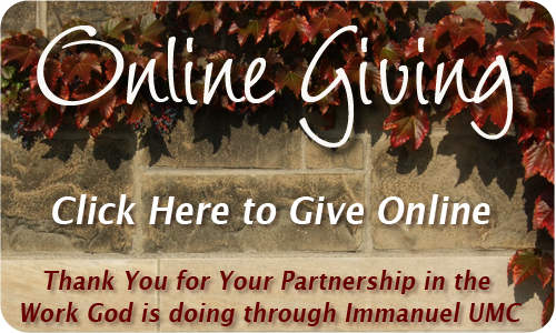 Immanuel Online Giving